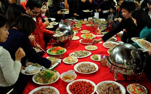 Compatriotas de Vietnam en Corea del Sur celebran Tet 2014  - ảnh 1