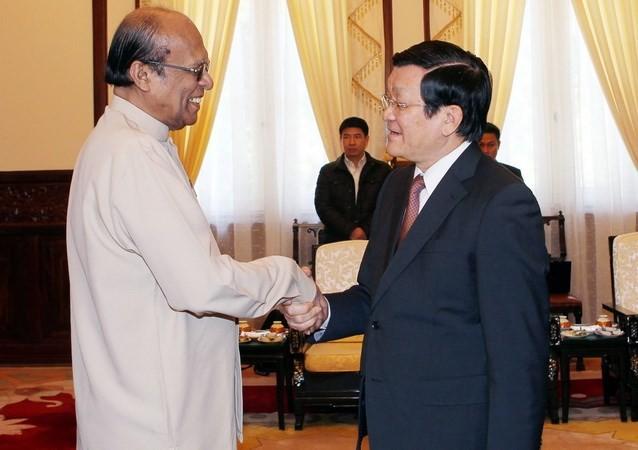 Respalda Vietnam desarrollo de Sri Lanka - ảnh 1