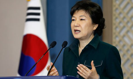 Urge presidenta surcoreana a Corea del Norte a abandonar su programa nuclear                         - ảnh 1