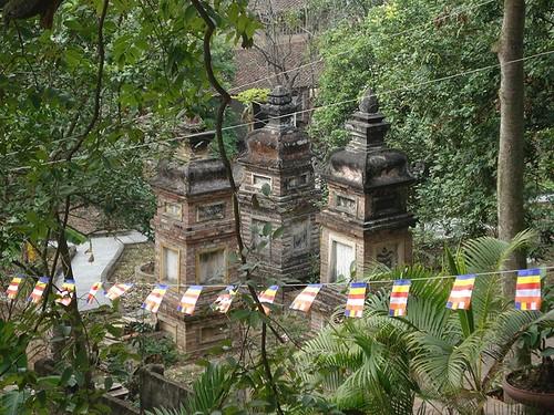 Pagoda Tieu-lugar de culto pintoresco de Kinh Bac - ảnh 2