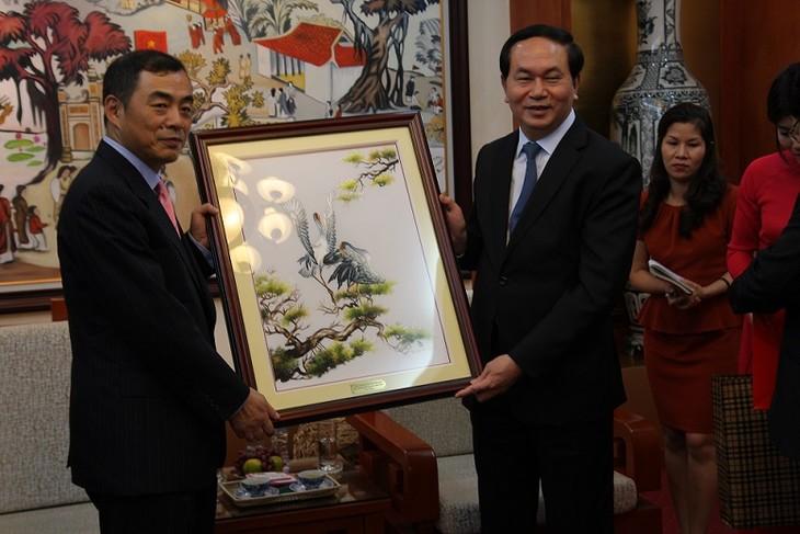 Ministerio de Seguridad Popular de Vietnam fomenta colaboración con China y Tailandia - ảnh 1