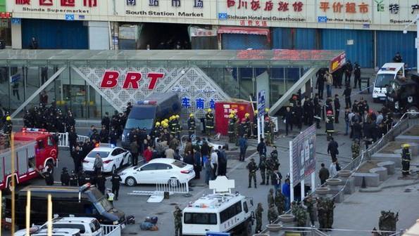 Atentado explosivo en Xinjiang, China deja 3 muertes - ảnh 1