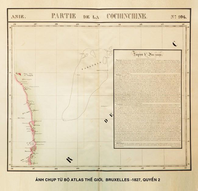 Atlas geográfico mundial 1827 confirma soberanía marítima de Vietnam - ảnh 3