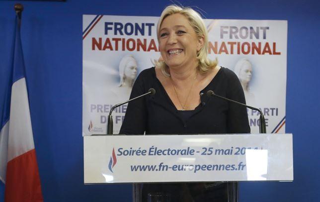 Elecciones europeas: El Frente Nacional gana en Francia con el 25% de los votos - ảnh 1