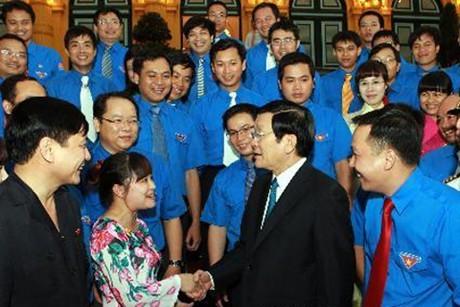 Presidente vietnamita estimula el aporte de los jóvenes a la construcción nacional - ảnh 1