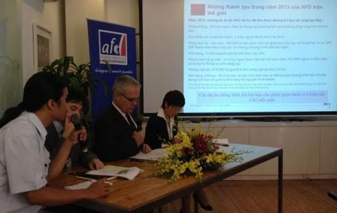 Vietnam, uno de los socios de primera fila de la Agencia francesa del desarrollo - ảnh 1