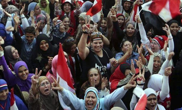 Egipto conmemora primer aniversario del golpe de Estado contra Mursi - ảnh 1
