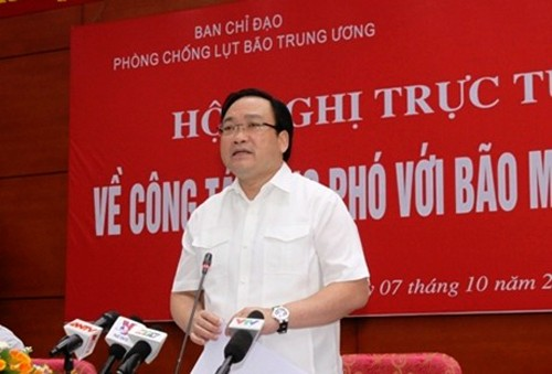 Acelera Vietnam planes para enfrentar a supertifones - ảnh 1