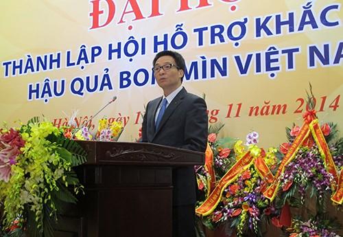 Fundan Asociación de asistencia para superar secuelas de explosivos en Vietnam - ảnh 1