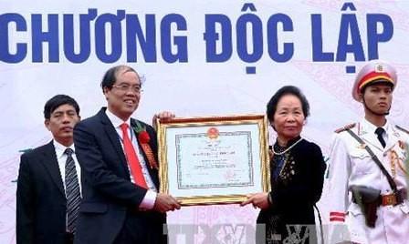 Vice mandataria asiste a la conmemoración de fundación de Universidad Silvícola - ảnh 1
