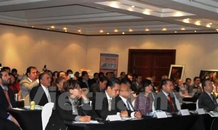 Celebran en México seminario sobre oportunidades en inversión y comercio con Vietnam - ảnh 1