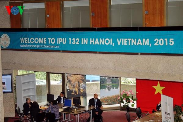 Asamblea 132 de Unión Interparlamentaria en Vietnam por cumplir objetivos del Milenio - ảnh 1