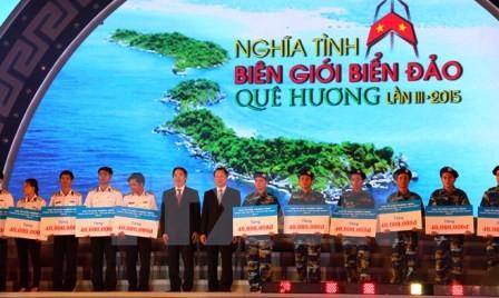 Más atención a los soldados vietnamitas en zonas fronterizas e isleñas  - ảnh 1