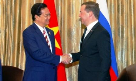 Fortifican asociación estratégica integral entre Vietnam y Rusia  - ảnh 1