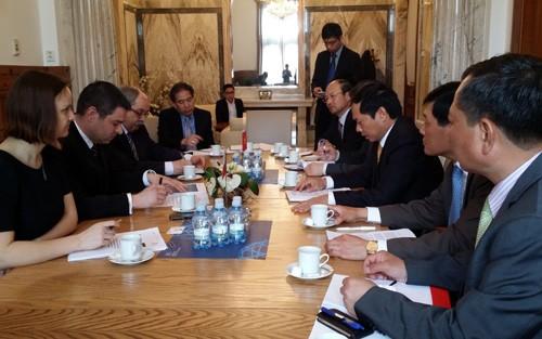 Realizan Vietnam y República Checa consulta política - ảnh 1