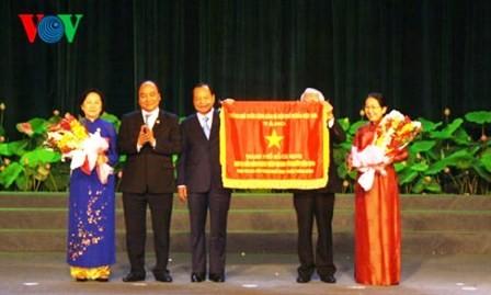 Presidente asiste al Congreso de Emulación de Ciudad Ho Chi Minh - ảnh 1