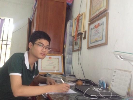 Vu Xuan Trung, joven de oro en matemática de Thái Binh - ảnh 1