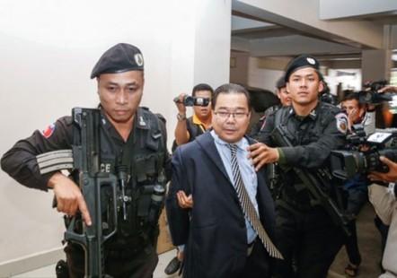 Retirada la inmunidad parlamentaria del senador camboyano Hong Sok Hour  - ảnh 1