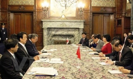 Cooperación parlamentaria entre Vietnam y Japón  - ảnh 1