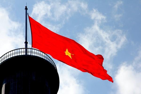 Torre de la bandera nacional de Lung Cu, símbolo de las 54 etnias vietnamitas  - ảnh 3