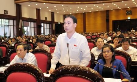 Parlamentarios vietnamitas discuten Código Civil modificado - ảnh 1