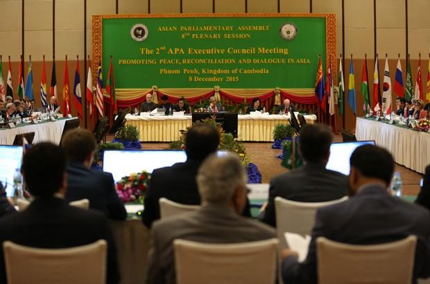 Inauguran octava sesión plenaria de la Asamblea Parlamentaria de Asia  - ảnh 1