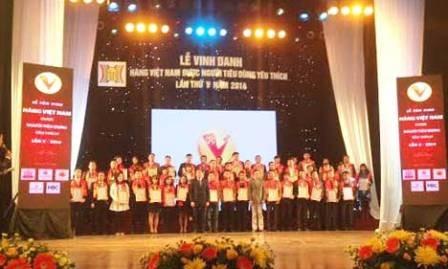 Honran a 200 productos vietnamitas más preferidos por consumidores nacionales - ảnh 1