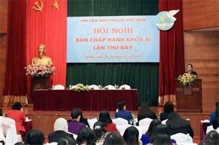 Celebran séptima Reunión de la Unión de Mujeres de Vietnam - ảnh 1