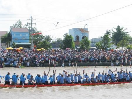 Original regata de los jemeres en la provincia vietnamita de Soc Trang - ảnh 3