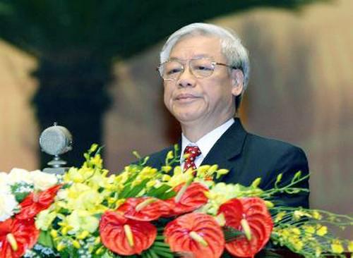XII Congreso del Partido Comunista de Vietnam abre nueva etapa de desarrollo - ảnh 1