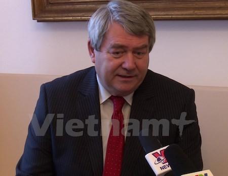 Partidos Comunistas de Vietnam y de República Checa fortalecen cooperación - ảnh 1