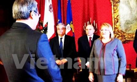Malta busca incrementar cooperación amistosa con Vietnam en distintos campos - ảnh 1