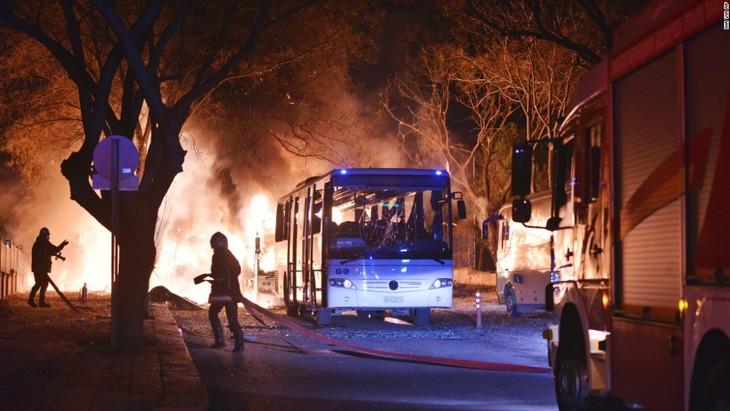 Identifica Turquía presunta autora del ataque terrorista en Ankara - ảnh 1