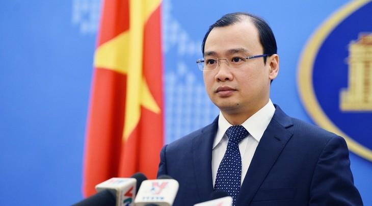 Vietnam pide a China a poner fin a sus acciones violatorias en territorios soberanos - ảnh 1
