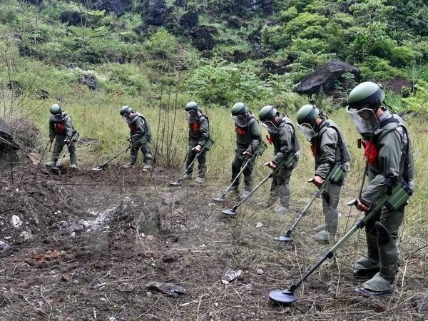 Esfuerzos colosales de Vietnam para descontaminar tierras con bombas y minas  - ảnh 1