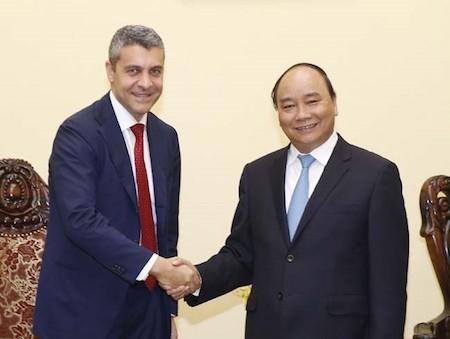 Primer ministro de Vietnam recibe a director ejecutivo de Goldman Sachs  - ảnh 1