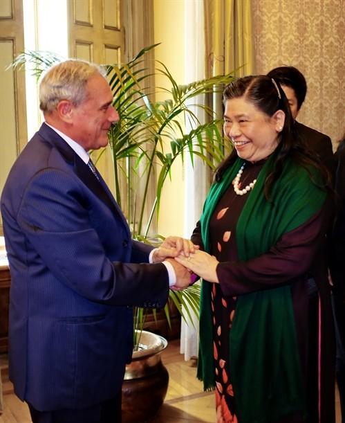 Vietnam valora altamente asociación estratégica con Italia  - ảnh 1