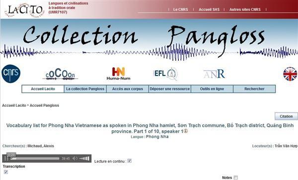 Inauguran una biblioteca acústica sobre las lenguas en peligro de desaparición de Vietnam - ảnh 1