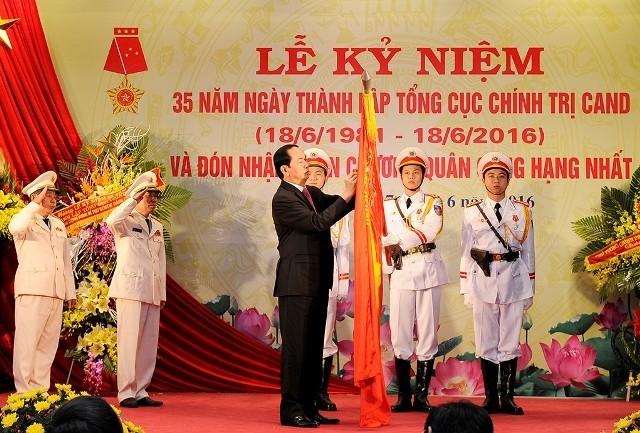 Conmemoran fundación de Dirección Política de la Policía Popular de Vietnam - ảnh 1