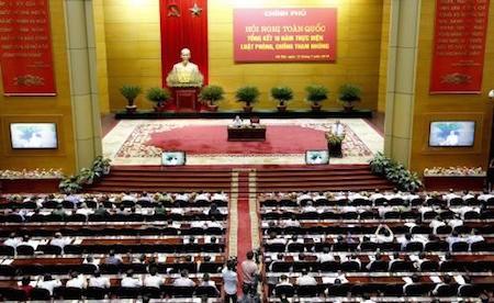 Piden en Vietnam más esfuerzos contra la corrupción  - ảnh 1