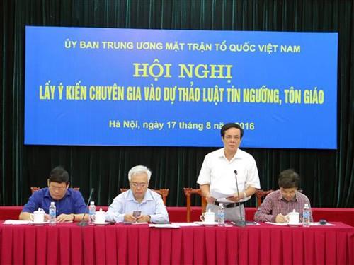 Vietnam incrementa protección de libertad de culto - ảnh 1