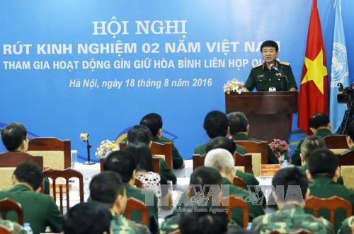 Vietnam por una mayor participación en mantenimiento de la paz  - ảnh 1