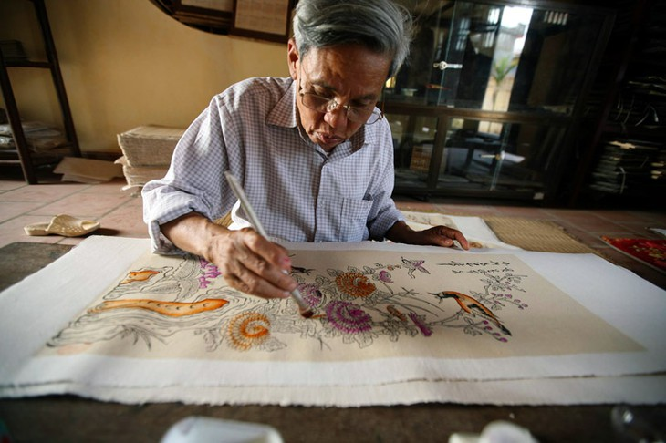 Presentación de 12 géneros de pinturas vietnamitas en la capital - ảnh 3