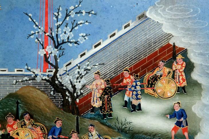 Presentación de 12 géneros de pinturas vietnamitas en la capital - ảnh 2
