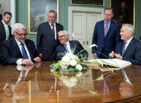 Alemania, Francia y Polonia abogan por promover la flexibilidad de la Unión Europea - ảnh 1