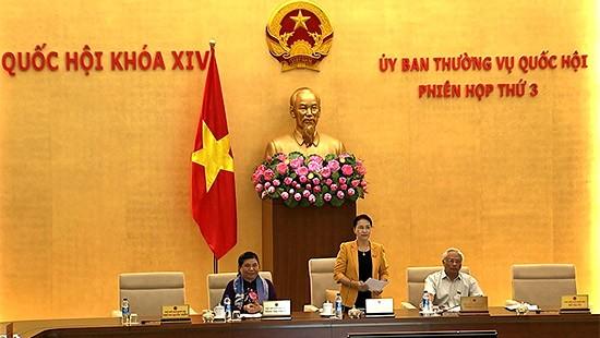 Clausuran III reunión de Comité Permanente del Parlamento vietnamita - ảnh 1