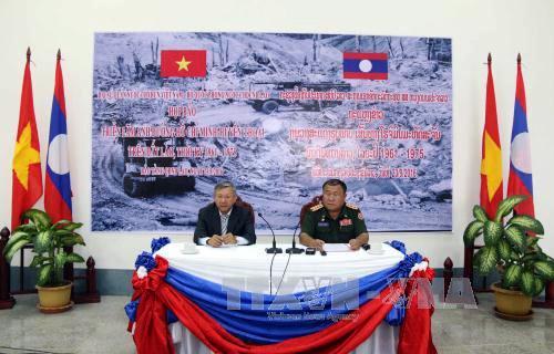 Organizan exposición sobre ruta legendaria Ho Chi Minh en territorio laosiano - ảnh 1