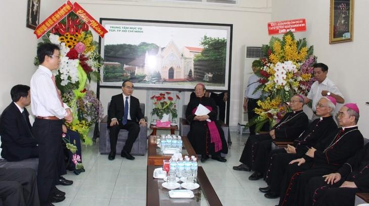 Exaltan posición de la comunidad católica en la sociedad vietnamita - ảnh 1