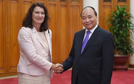 Vietnam y Suecia buscan ampliar nuevas oportunidades de cooperación  - ảnh 1