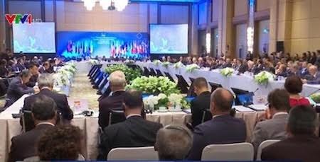 Inauguran vigésimo primera Conferencia de Cancilleres Asean-Unión Europea - ảnh 1